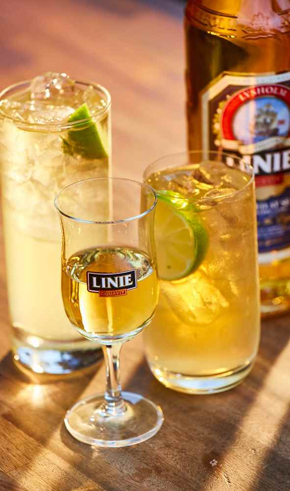 serve linie aquavit in good company
